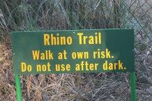 Kruger Nat Park - Berg-en-Dal rest camp - perimeter trail